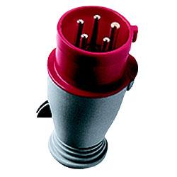 Leviton International-Rated Pin and Sleeve 32A 100-130V Plug