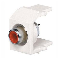 Panduit® NetKey Keystone Module with RCA Solder Type Connector