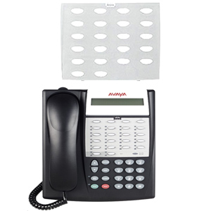 Avaya Partner Designation Plastic Strip for 18 Button Display Partner Euro Style Series 2