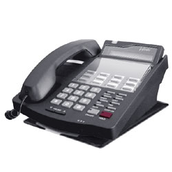 Vertical-Comdial Charcoal 12-Button Executive Display Phone, Refurbished