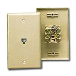 MISC 10630-4IV Flush Wall 4-Cond IVORY