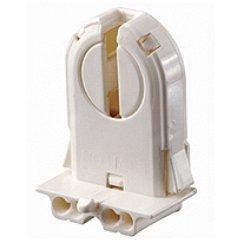 Leviton Fluorescent Lampholders for T-8 and T-12 Medium Bi-Pin Lamps