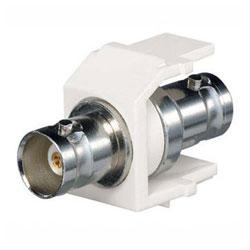 Panduit® NetKey Keystone Module with 50 Ohm BNC Coax Coupler
