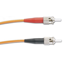 Panduit® NetKey ST to Pigtail, OM2, Simplex Patch Cord