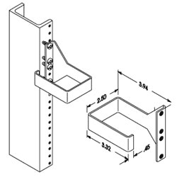 Chatsworth Products Vertical Wire Management Loop
