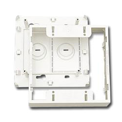 Siemon Surface Mounting Box for Double Gang MAX or CT Faceplate