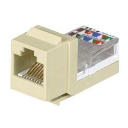 Panduit® NetKey Category 3, 8-Position, 8-Wire, Leadframe UTP Jack Module