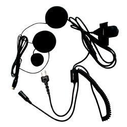 Pryme SPM-800 Series Medium Duty In-Helmet Mic for Icom/Maxon/Ritron/Vertex Radios - Full