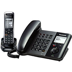 Panasonic SIP IP Expandable Cordless Phone System with Corded Handset Base Station