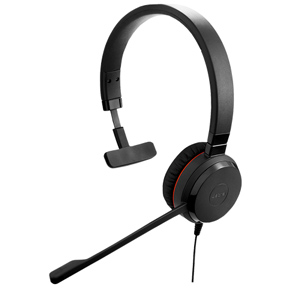 Jabra Evolve 30 Unified Communications Corded Headset (Mono)