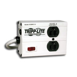 Tripp Lite 2 AC Outlet Premium Surge, Spike and Line Noise Suppressor