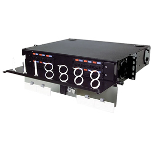 Siemon 24- to 96-Port Rack Mount Interconnect Center, 2 RMS