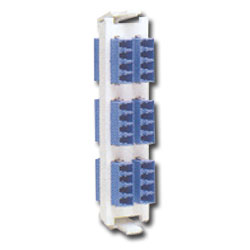 Siemon Flat Quick-Pack 12 Duplex LC Adapter Plate (24 Fibers)