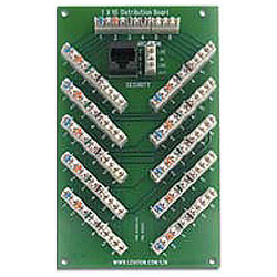 Leviton 1x6 Bridged Telephone Security Expansion Board