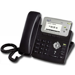 MaVI Systems 326i 3-Line IP Phone with LCD Display