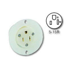 Leviton Flanged Outlet Receptacle