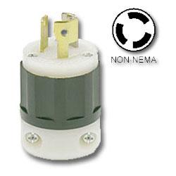 Leviton 15Amp Non-NEMA Locking Plug