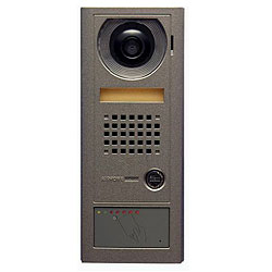 Aiphone Video Door Station with Stand Alone Prox Reader, Surface Mount