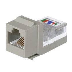 Panduit® NetKey Category 3, 6-Position, 6-Wire, Leadframe UTP Jack Module with USOC Wiring Scheme
