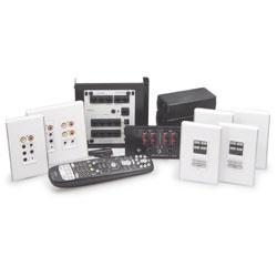 Legrand - On-Q lyriQ High Performance Multi-Source 4-Zone Kit in Studio Design