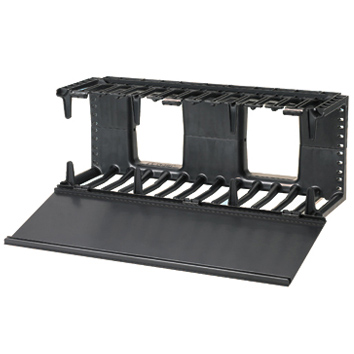 Panduit® Horizontal Cable Manager, Front Only, 4U