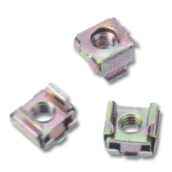 Middle Atlantic 6mm Cage Nut Hardware (Package of 100)