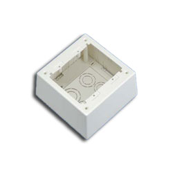 Panduit® Double Gang Two-Piece Screw Together Deep Outlet Box