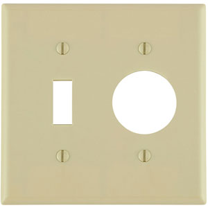 Leviton 2-Gang 1-Toggle 1-Single 1.406