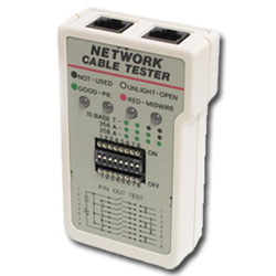 Hobbes USA Network Cable Tester (RoHs Compliant)