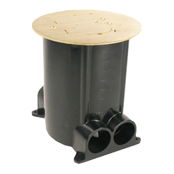 Legrand - Wiremold 881 Series Ratchet-Pro Multi-Service Round Floor Box