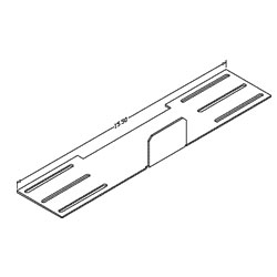 Chatsworth Products Jumper and Transition Trays - Transition Plate