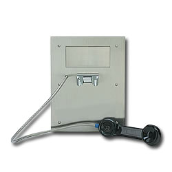 Ceeco Automatic Dialing Stainless Steel Panel Phone with Mounting Box