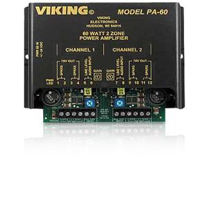Viking 60 Watt Compact Two Zone Amplifier