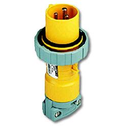 Leviton 125 AC 2P3W Wiring Watertight Pin and Sleeve Plug