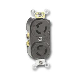 Leviton 15Amp Locking Device with 250V 2-Pole 3-Wire Grounding
