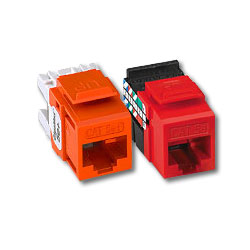 Leviton GigaMax 5e+ Quickport Component-Rated Snap-In Connectors