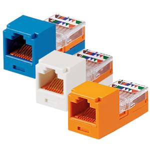 Panduit® Mini-Com Mini-Jack Category 5e Module for T568A and T568B Wiring Schemes