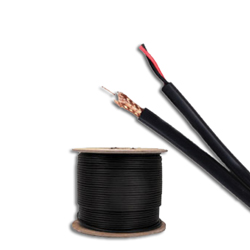 Genesis Cable 18 AWG Solid Bare Copper RG59 Cable (1000')