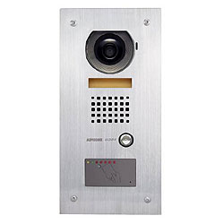 Aiphone Video Door Station with Stand Alone Prox Reader, Flush Mount