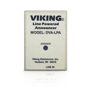 Viking Phone Line Powered Digital Announcer