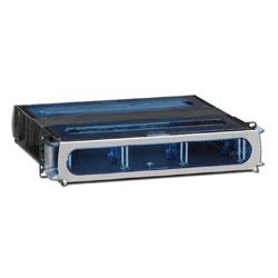 Leviton 2RU Opt-X Ultra Fiber Enclosure with Sliding Tray