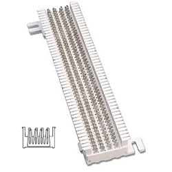 Siemon Field-Terminated M Series S66 Block (25 Pair)