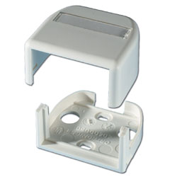 Legrand - Ortronics Series II Plastic Surface Mount Box for One Module