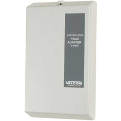 Valcom Station Level Page Adapter