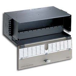 Panduit® Opticom Rack Mount Fiber Enclosure - 12 Panels