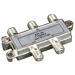 Allen Tel 1 GHz 4-Way Splitter