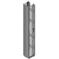 Chatsworth Products Velocity Single-Sided Vertical Cable Manager for 7' Height and 45U Racks