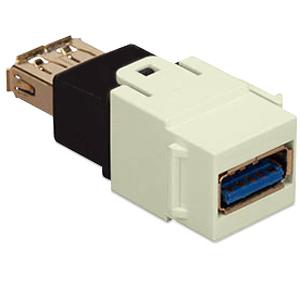 Allen Tel Versatap USB 2.0 Female A to Female B Coupler (Package of 10)