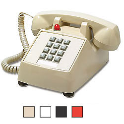 MISC Single-Line Desk Phone with Message Waiting