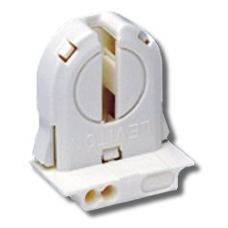 Leviton Med Bi-Pin Lamp - Snap-in/Slide-on Mounting Featuring Lamp-Lock with Internal Shunt